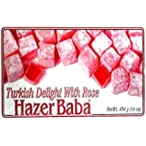 Hazerbaba Turkish Delight with Rose - 1lb