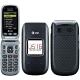 Pantech Breeze 3 III P2030 AT&T GSM Unlocked Flip Cell Phone - Grey