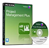 Project Management Plus - Professional Project Management Software Suite - Microsoft Project Alternative - 4 Advanced Programs (PC)