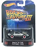 """Back to the Future - 1955 Time Machine """"Back to the Future Part III"""" Hot Wheels 2015 Retro Series 1/64 Die Cast Vehicle"""
