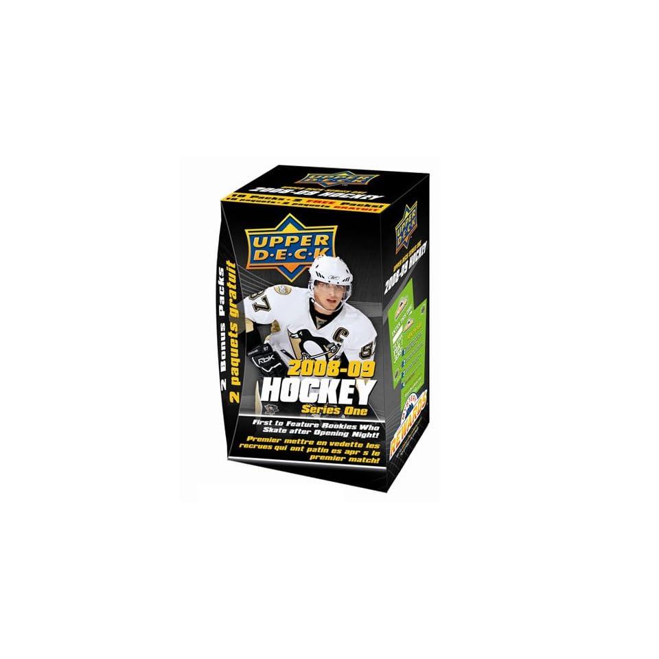 2008 09 Upper Deck Series 1 Hockey Trading Cards   Blaster Box