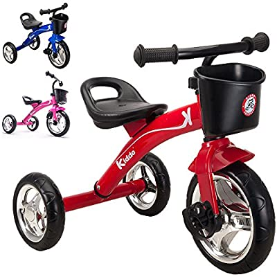 Kiddo 3 Wheeler Smart Design Kids Child Children Trike Tricycle Ride-On Bike 2-5 Years New