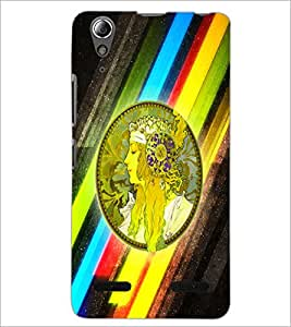 PrintDhaba Prince D-2970 Back Case Cover for LENOVO A6000 PLUS (Multi-Coloured)