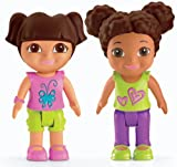 Fisher Price X2869 Dora The Explorer Playtime Together - 7cm Figure 2-Pack