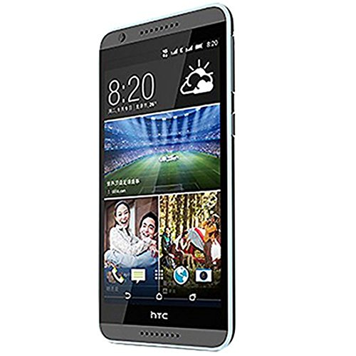 Htc Desire 820U 5.5 Inch Android 4.4 64Bit Octa Core Msm8939 13.0 Mp Dual Sim Multi-Language Unlocked 4G Lte Smartphone (Grey) - International Version No Warranty