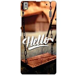 Lenovo A7000 PA030023IN Back Cover - Hello Designer Cases