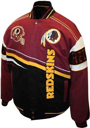 NFL Mens Washington Redskins 1st and 10 Cotton Twill Jacket by MTC Marketing, Inc