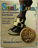Manuscript Pen 727HOL Decorative Seal Coin, 0.75-Inch, Holly