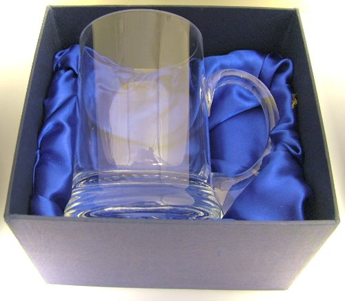 Glass One Pint Tankard - Personalised Free.