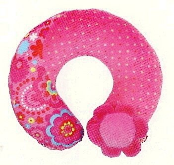 Neck Pillow, Chip Chip Collection-pink