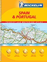 Michelin Spain & Portugal/Michelin Espana & Portugal: Tourist and Motoring Atlas (Michelin Tourist and Motoring Atlas : Spain & Portugal)