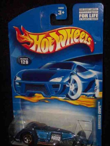#2001-120 Hammered Coupe 5-spoke Collectible Collector Car Mattel Hot Wheels 1:64 Scale