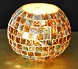 Giftwallas Glass Potpuri ( Multi, 10X10 cm )