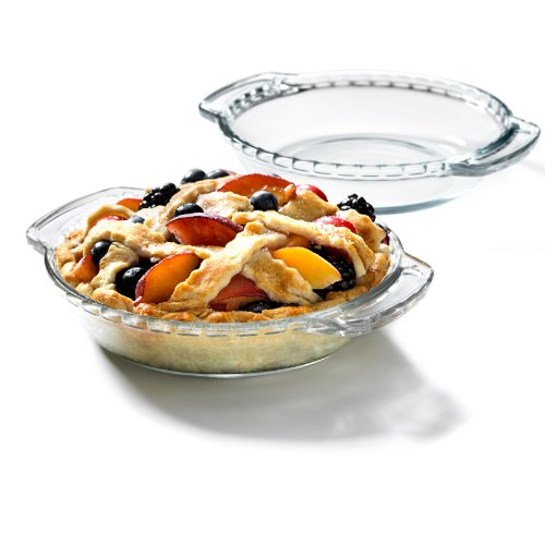 Anchor Hocking Oven Basics Mini Glass Pie Plate, Set of 2 (Small Pie Plate Glass compare prices)