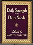 img - for Daily Strength for Daily Needs book / textbook / text book