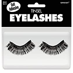 Black Eyelashes Costume Eyelashes