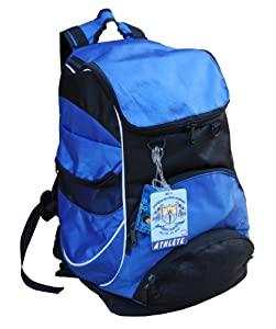 Swimmer Backpack Large Swimming Backpack With Pocket For Wet Items - Blue by Proximelle