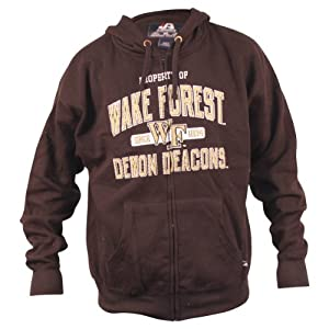 Wake Forest University Demon Deacons Full Zip Hoodie by J. America