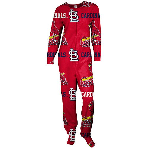 St. Louis Cardinals Highlight Footie Pajamas by Concepts Sport at Amazon.com