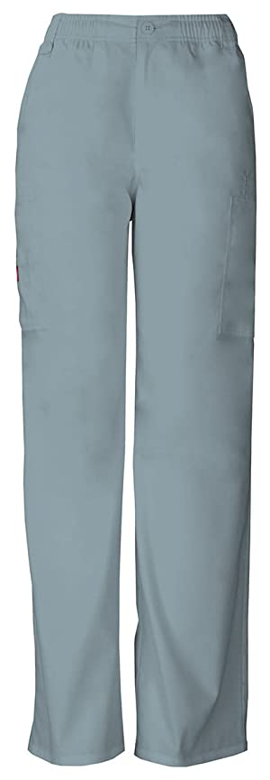 Dickies Men's Button Closure Zip Fly Pull-On Pant_Grey_Small,81006