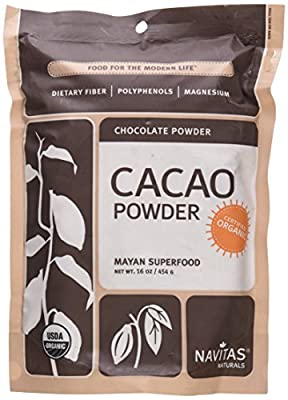 Navitas Naturals Organic Cacao Powder Raw Chocolate -- 16 oz