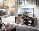 Tim TV Cabinet with 1Door-48x 38x 42cm, San Remo Oak, width 122cm