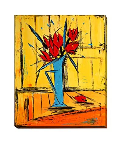 "Atelier De Jiel ""Red Tulips"" Weather-Resistant Canvas Print"