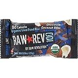 Raw Revolution - Organic Live Food Bar Raw Rev 100 Calorie Chocolate Coconut Bliss - 0.8 oz.