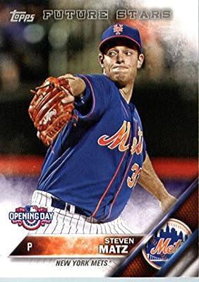 2016 Topps Opening Day #OD-176 Steven Matz New York Mets Baseball Card-MINT