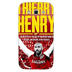 Jugaaduu Arsenal Therry Henry Back Cover Case For Samsung Galaxy Grand 2