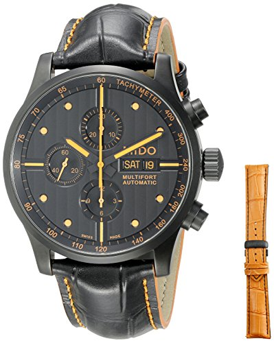 mido-mens-multifort-44mm-black-leather-band-ip-steel-case-automatic-analog-watch-m0056143605122