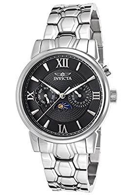 Invicta Men's 18088 Specialty Analog Display Swiss Quartz Silver Watch