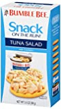 BUMBLE BEE Snack on the Run! Tuna Salad with Crackers Kit, 3.5 Ounce (Pack of 12)