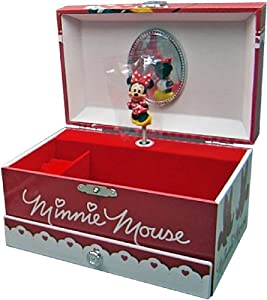 Minnie Mouse - Joyero musical con cajón, 18 x 11 x 10 cm (Kids WD91017) marca Kids - BebeHogar.com