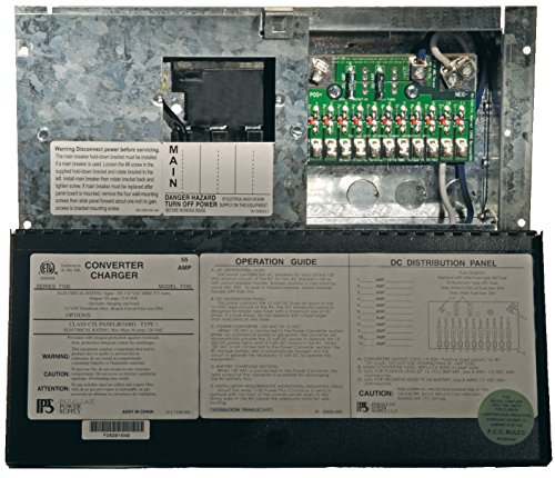 Parallax Power Supply (7155) Power Center with 55 Amp Converter and Distribution Panel (Rv Power Inverters compare prices)