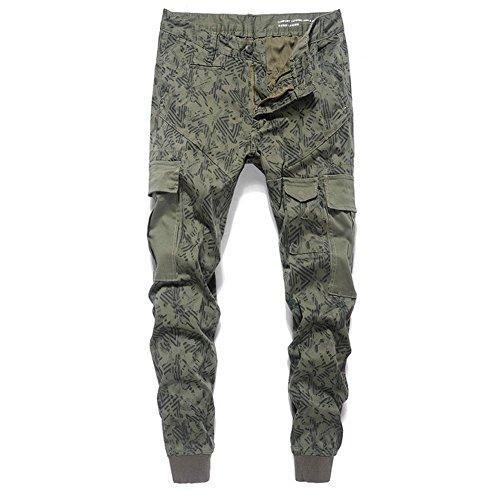 Yimaida -  Pantaloni sportivi  - opaco - Uomo camouflage 30W/Regular