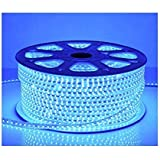 Water Proof 100 METER LED (STRIP LIGHT,COVE LIGHT) Rope Light Color: BLUE With Adapter