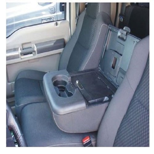Console Vault Fold Down Arm Rest Gun Safe for 2004-2011 Ford F-150 (2010 F150 Center Console compare prices)