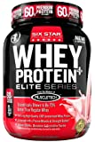 Six Star Pro Nutrition Elite Series Whey Protein Powder 2lb Strawberry (Packaging may vary)