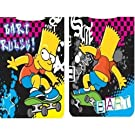 Kids/Childrens Bart Simpson Poncho Beach Towel