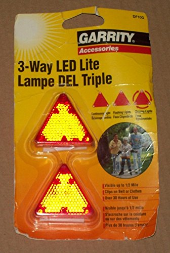 3-Way Led Lite Df10G Ideal For Jogging, Walking, Bicycle Riding, Book Packs, And Pets