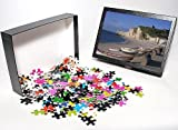 Photo Jigsaw Puzzle of Beach and Falaise...