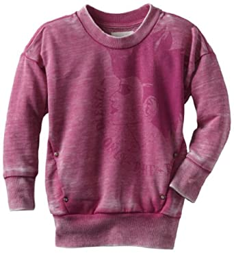 迪赛Diesel Girls 2-6x Saxonk Sweater意大利产 女童毛衣$21.49