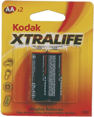 Kodak Xtralife Batteries Aa - 2 Ct. [12 Pieces] *** Product Description: Kodak Xtralife Batteries Aa Are High Quality Reliable Power Resources That Could Be Used In A Number Of Battery Operated Low-Drain Appliances Like Clocks, Flashlights And Tv ***