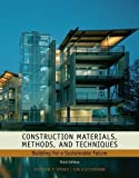 img - for Construction Materials, Methods and Techniques: Building for a Sustainable Future by William P. Spence (Jan 19 2010) book / textbook / text book