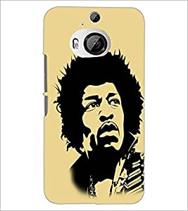 PrintDhaba Sketch D-3347 Back Case Cover for HTC ONE M9 PLUS (Multi-Coloured)