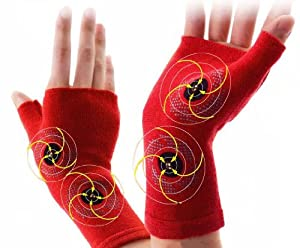 Medical Magnetic Wrist Supporter Infrared Waves Improve Blood Flow Japan Warm by Banraishop