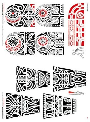tribal polynesier und maori flash book gro e auswahl. Black Bedroom Furniture Sets. Home Design Ideas