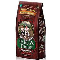 Pablo's Pride Whole Bean Guatemala Gourmet Coffee Medium-Dark Roast 2lb