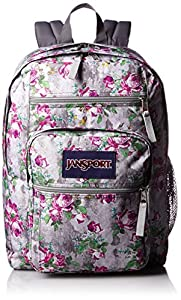 JanSport Mens Classic Mainstream Big Student Backpack - Multi Concrete Floral / 17.5